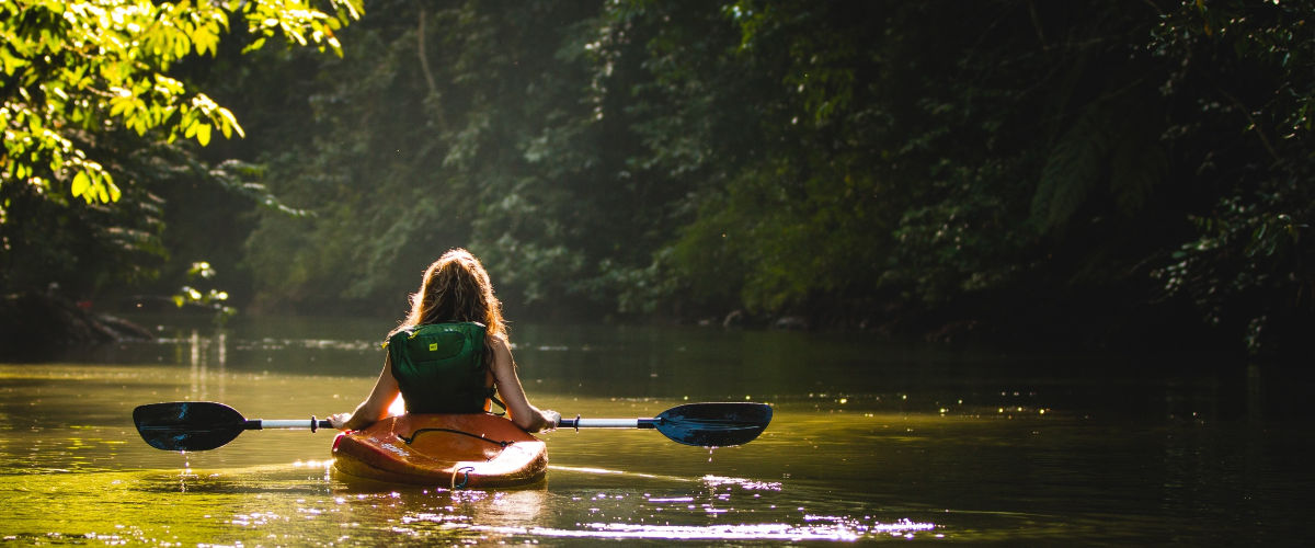Canoeing in the Creek